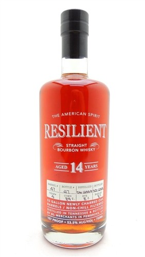 Resilient 14 Year Old Bourbon Whiskey