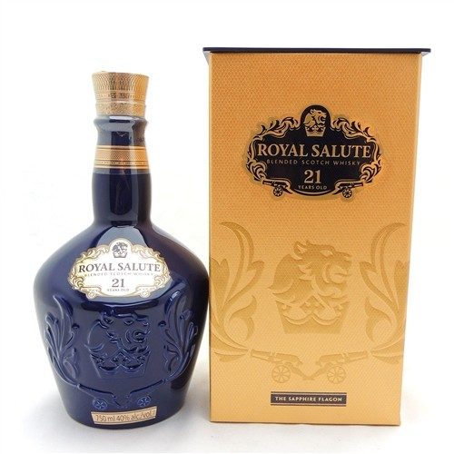 Chivas Regal Royal Salute 21 Year Old Scotch