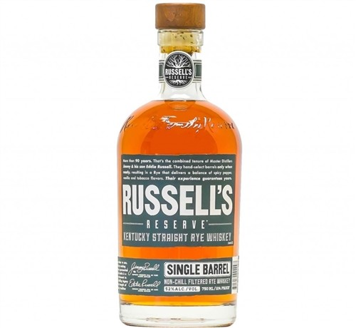 Russell's Reserve Single Barrel Rye Whiskey