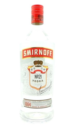 Smirnoff Vodka Half Gallon