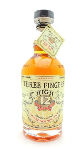 Three Fingers High 12 Year Whiskey