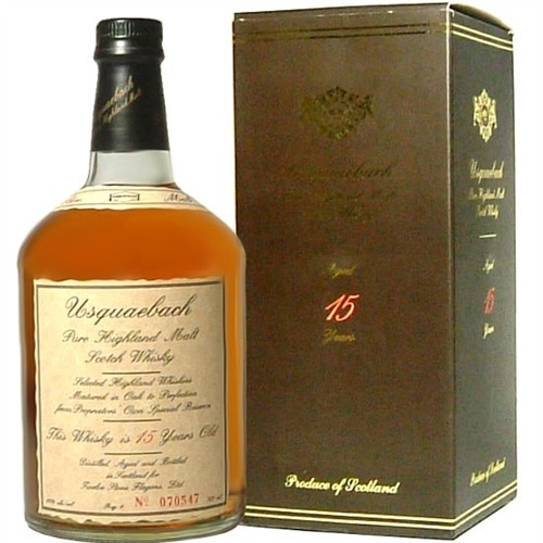 Usquaebach Scotch 15 Years