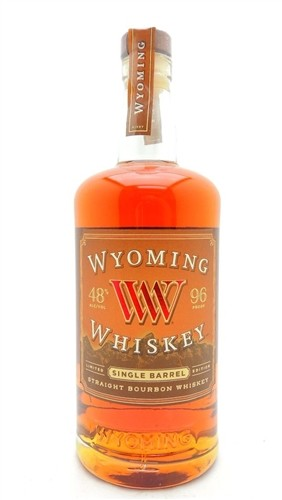 Wyoming Single Barrel Bourbon Whiskey