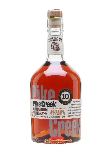 Pike Creek 10 Year Old Whiskey